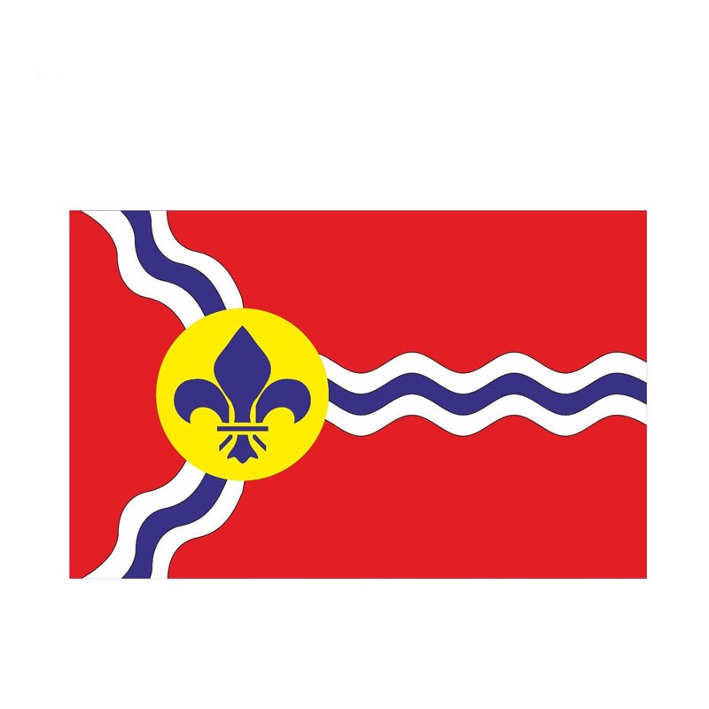 St Louis City Flag Sticker 180519