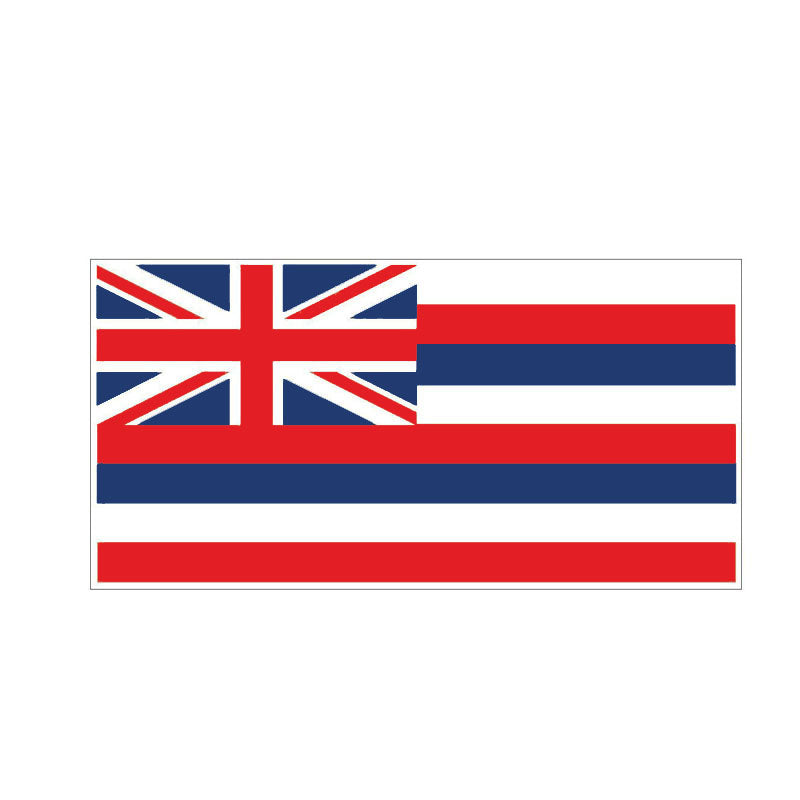 Hawaii Flag Sticker 180519