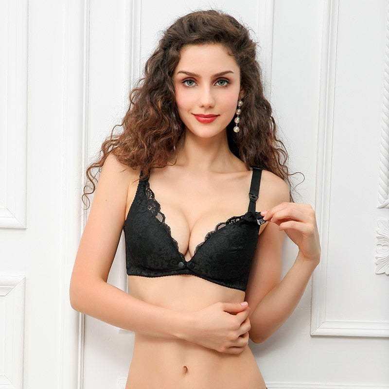 Fashion Breastfeeding Bra 031018