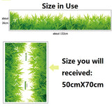 3D Green Grass PVC Sticker