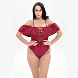 Plus Size Swimsuit 210218