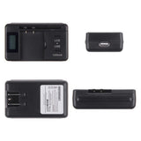 Mobile Universal Battery Charger with LCD Screen