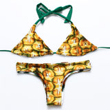 Tropical Fruit Bikini Set