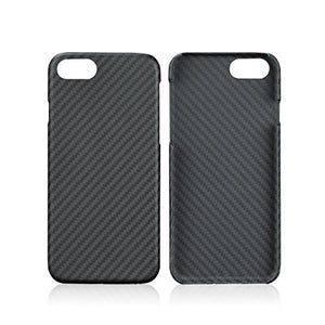 iPhone 7/7 Plus, iPhone 8/8 Plus Carbon Hülle - Schwarzes Premium-Case aus Aramid-Karbon-Kevlar