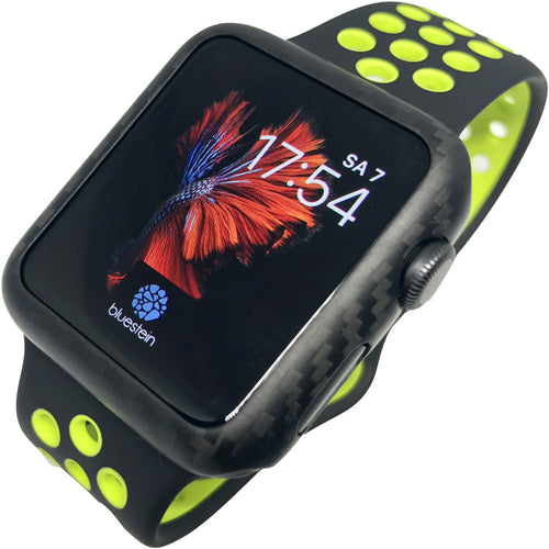 Carbon Case für Apple Watch Series 2 & 3.