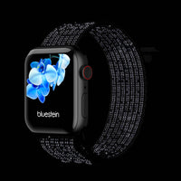 Reflektierendes Watchpop Nylon Armband für Apple Watch 1 bis 6