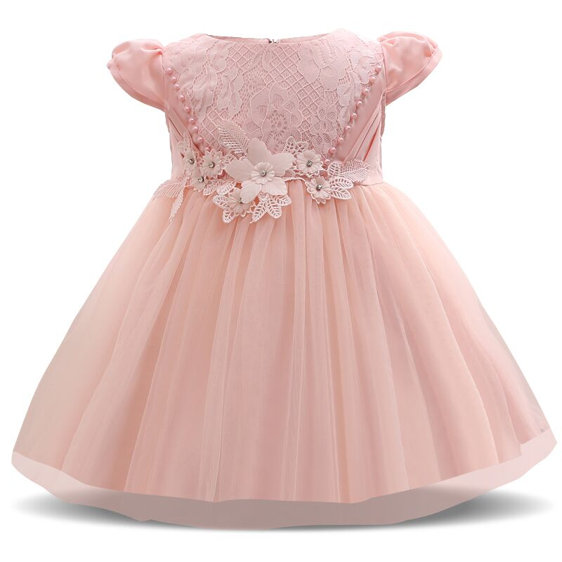 Costume Princess White Lace Layer Party Dress (3 - 24 Months ...