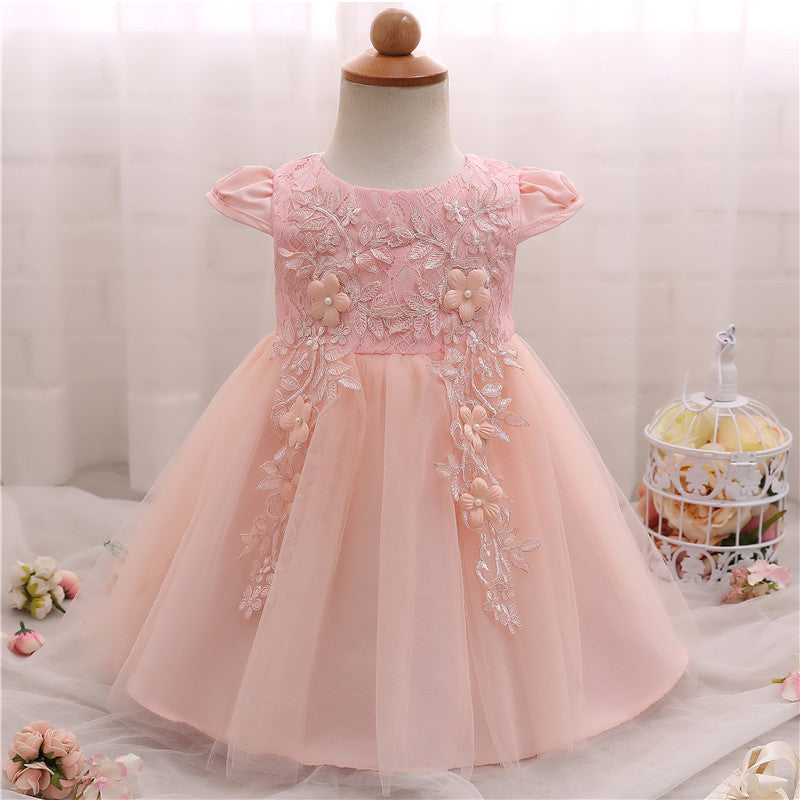 Costume Princess Lace Party Dress (3 - 24 Months) – blessingmybaby.com
