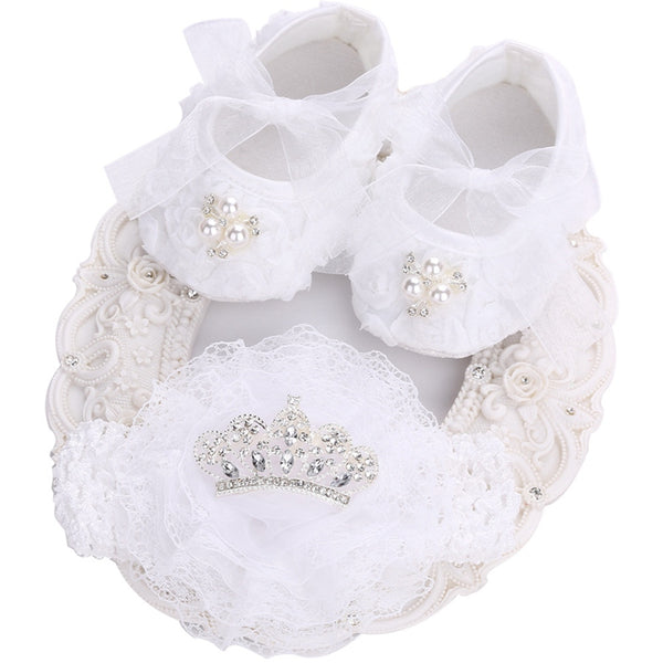 612af39367f83 Princess Crown Headband + Rhinestone Baby Shoes – blessingmybaby.com