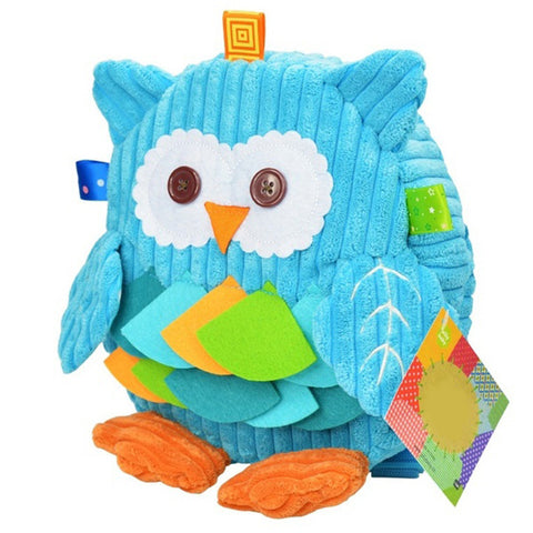 [New Arrival] !! Blue Owl Cute Animal Cartoon Kids Backpack With Comfortable Straps