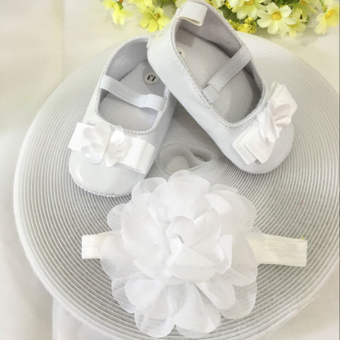 Snow White Toddler Shoes & Princess Lace Headband (In One Set)!