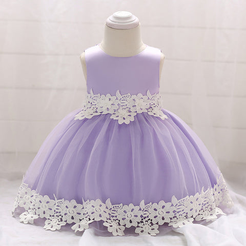 Baby Girl Ball Gown Cute Dresses (3 - 24 Months)