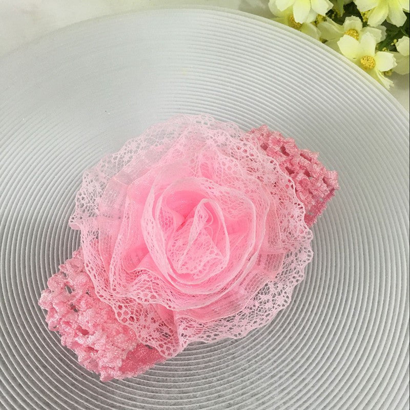 Spring sale free shipping pink flowers shoes princess lace spring sale free shipping pink flowers shoes princess lace headband for cute baby girl in one set mightylinksfo
