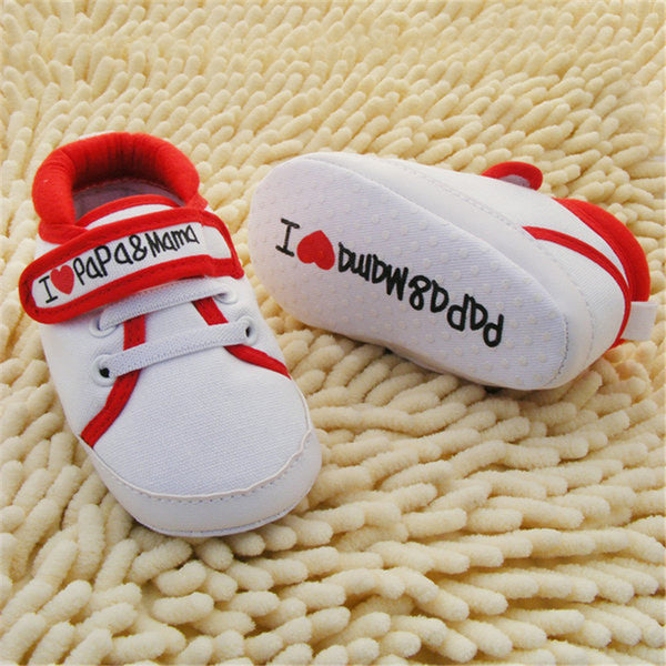 Baby Soft Canvas Stylish Sneaker Shoes (0-18M)!