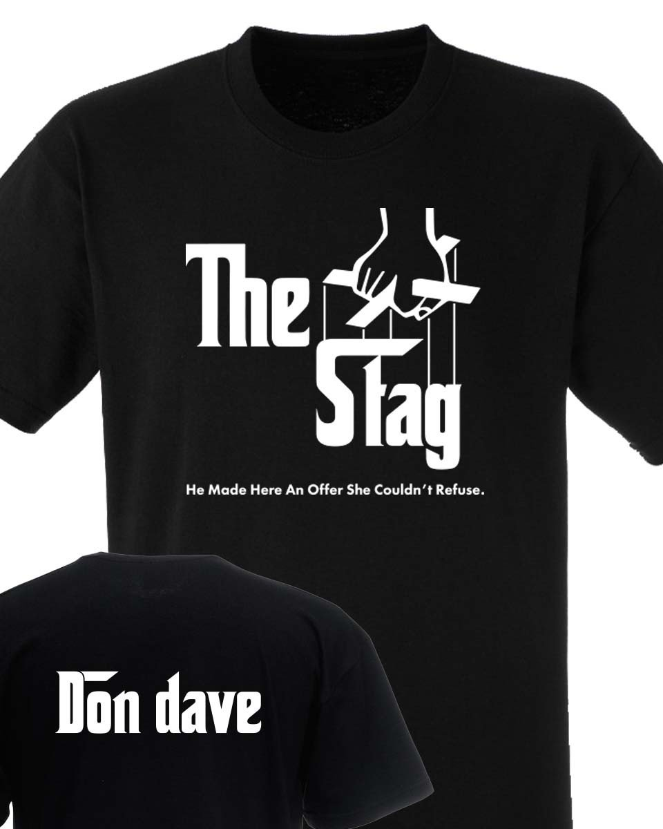 Godfather Style Stag Do T Shirt
