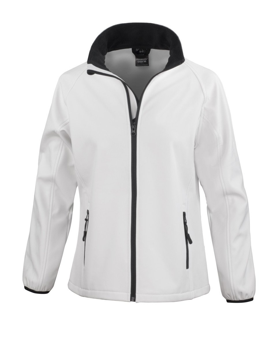 ... Result Core Ladies Printable Softshell Jacket - Print Chimp ... 818658478b