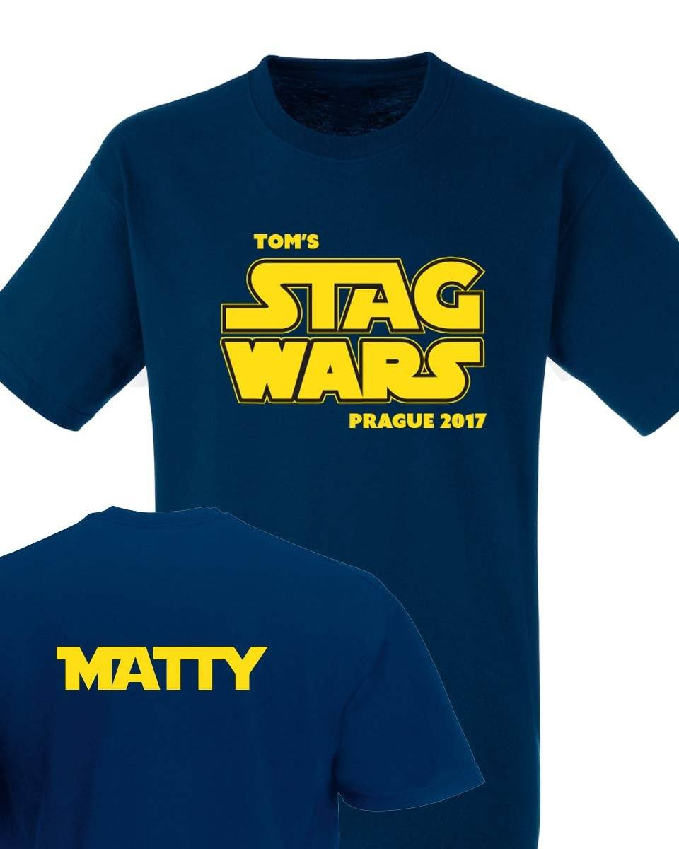 Stag Wars Stag Do T Shirt