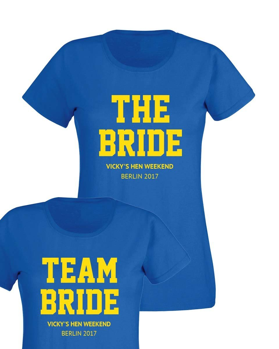 Cheap Personalised T Shirts Hen Party | Lixnet AG