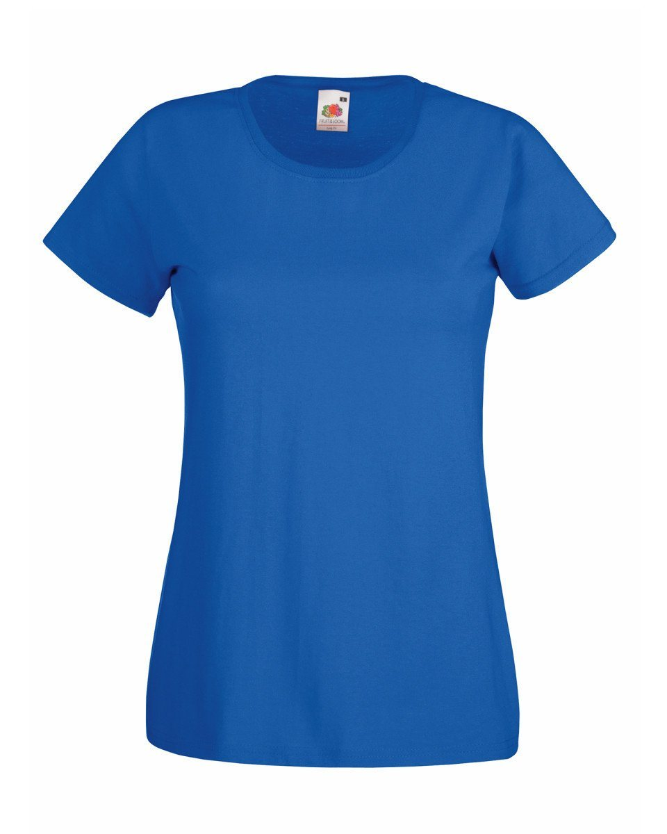 Fruit Of The Loom Ladies Fit Valueweight T-shirt - Print Chimp