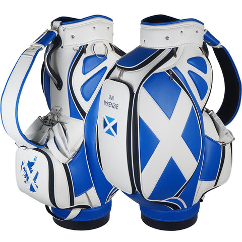Premium Custom Scottish Tour Staff Bag - The Back Nine Online
