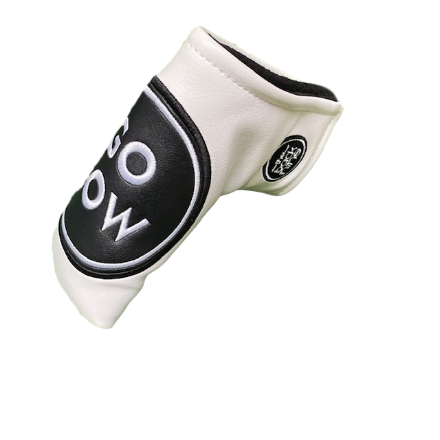 """Go Low"" Blade Putter Cover The Back Nine Online - Custom HeadCovers & Custom Golf Bags"