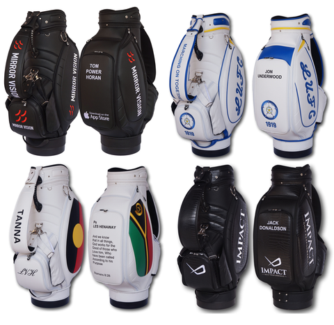 Custom Golf Bag - Staff Tour Pro - The Back Nine Online