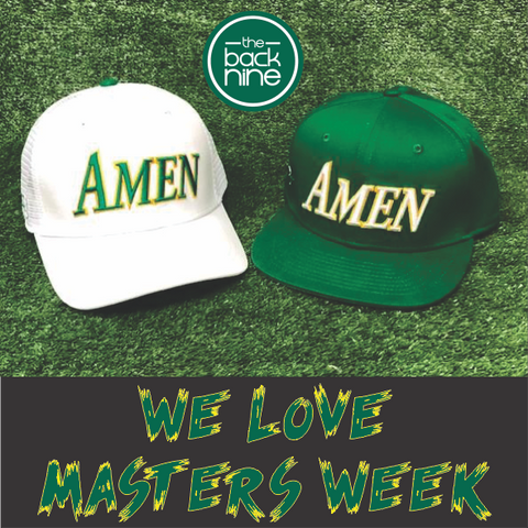 AMEN - 11,12,13 Twin Pack The Back Nine Online - Custom Golf Bags, HeadCovers and Golf Towels