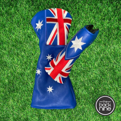 Australian Flag - Driver & Putter Cover Twin Pack The Back Nine Online - Custom HeadCovers & Custom Golf Bags