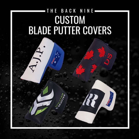 Custom Blade Putter Cover The Back Nine Online - Custom HeadCovers & Custom Golf Bags