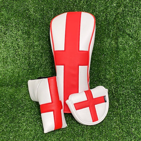 English Flag HeadCover Twin Packs - The Back Nine Online