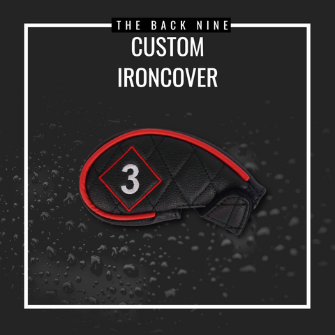 Custom Iron Cover - Single The Back Nine Online - Custom Golf Bags, HeadCovers and Golf Towels