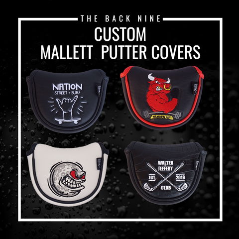 Custom Mallet Putter Cover - The Back Nine Online