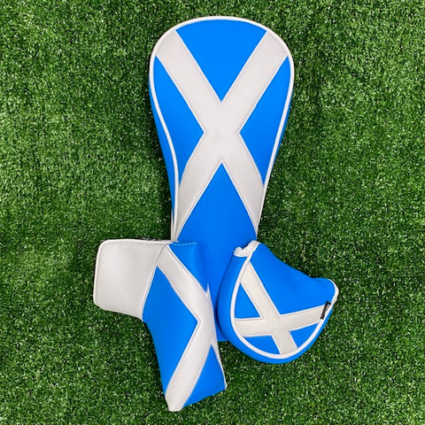 Scottish Flag Headcover Twin Packs