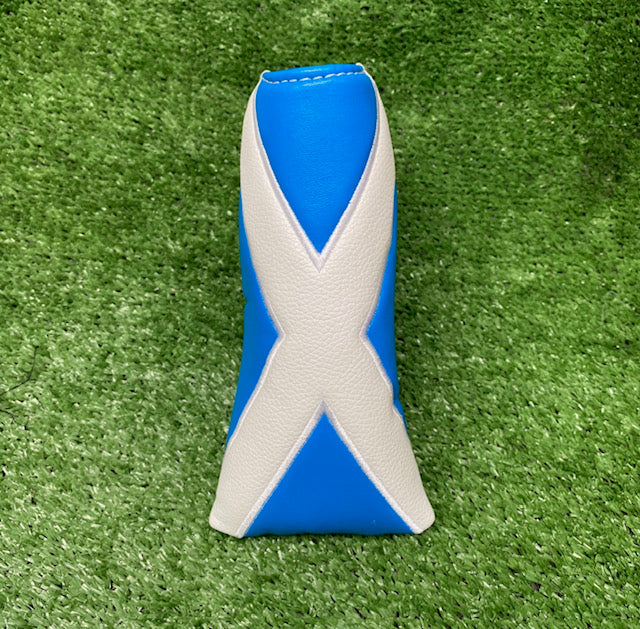 """Scottish Flag"" Custom Blade Putter Cover"