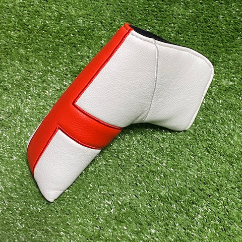 """English Flag"" - Custom Blade Putter Cover The Back Nine Online - Custom HeadCovers & Custom Golf Bags"