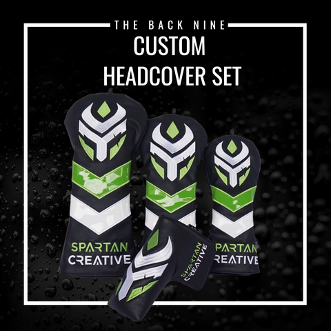 Custom Head Cover Set The Back Nine Online - Custom Golf Bags, HeadCovers and Golf Towels