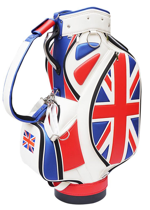 Union Jack Custom Heritage Tour Staff Bag - The Back Nine Online
