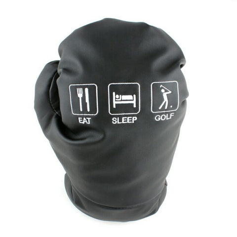 Eat Sleep Golf Premium Custom Boxing Glove Style Driver Cover - The Back Nine Online