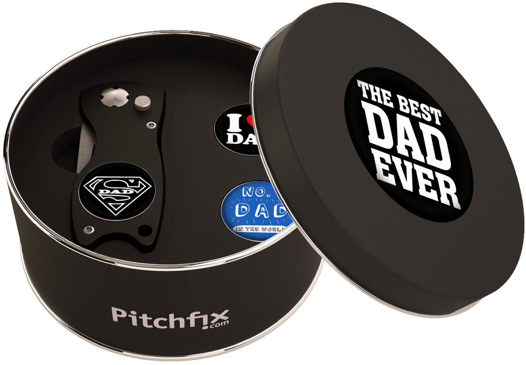 Father's Day Pitchfix Gift Set -                                             Original Tool with 3 x Custom Father's Day Ball Markers - The Back Nine Online