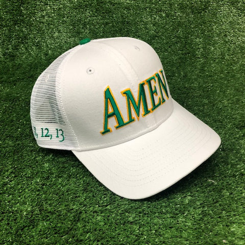 AMEN - 11,12,13 Trucker cap The Back Nine Online - Custom HeadCovers & Custom Golf Bags