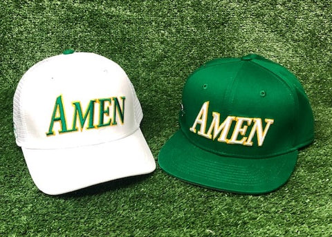 AMEN - 11,12,13 Twin Pack The Back Nine Online - Custom HeadCovers & Custom Golf Bags