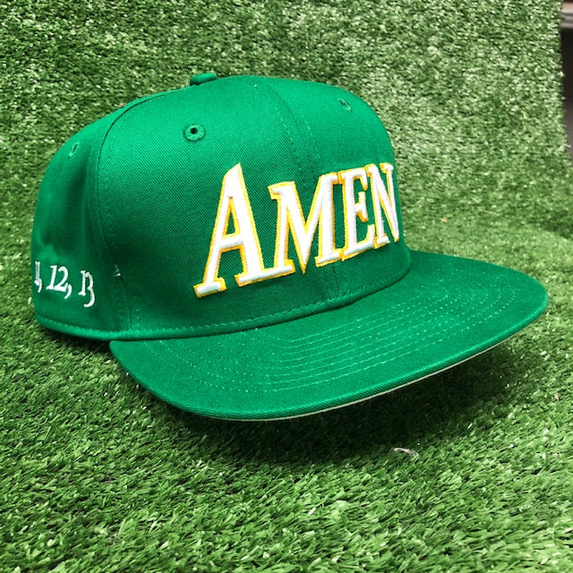 AMEN - 11,12,13 Flat Brim The Back Nine Online - Custom HeadCovers & Custom Golf Bags
