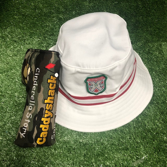 Caddyshack Blade Putter Cover + Bushwood Bucket Hat The Back Nine Online - Custom HeadCovers & Custom Golf Bags