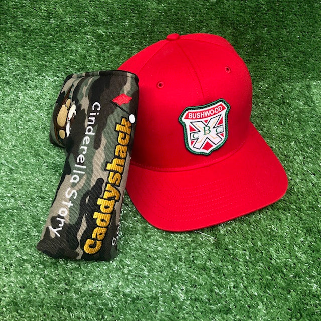 Caddyshack Blade Putter Cover + Bushwood Snapback The Back Nine Online - Custom HeadCovers & Custom Golf Bags