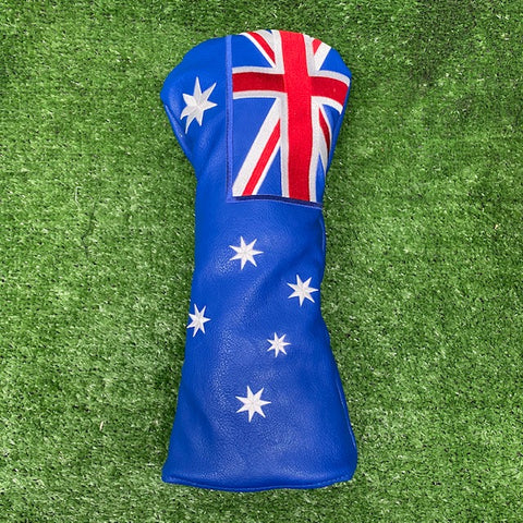 Australian Flag - Driver Cover - The Back Nine Online
