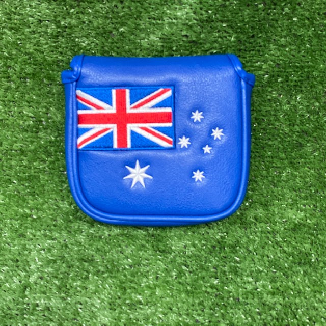 "Australian Flag ""Square"" Mallet Putter Cover"