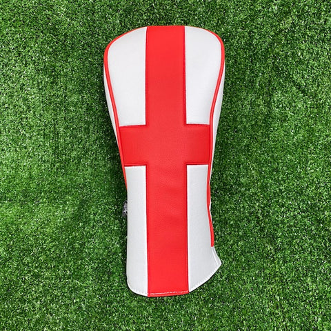 England Flag Heritage Driver Cover - The Back Nine Online