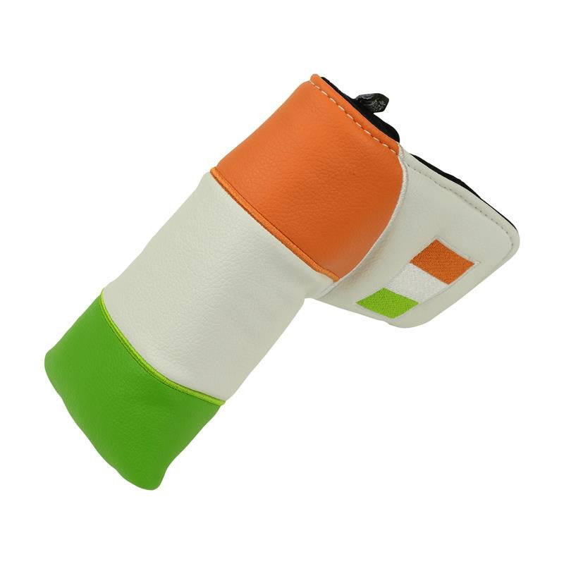 """Irish Flag"" Premium Blade Putter Cover - The Back Nine Online"