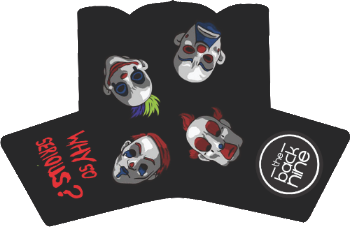"PRE ORDER NOW - ""Why So Serious"" Blade Putter Cover - The Back Nine Online"