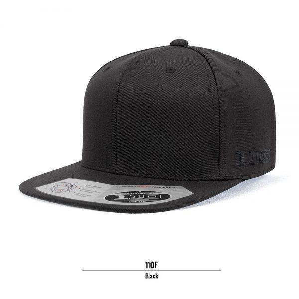 Flexfit 110F Flat Peak Cotton Twill Snapback